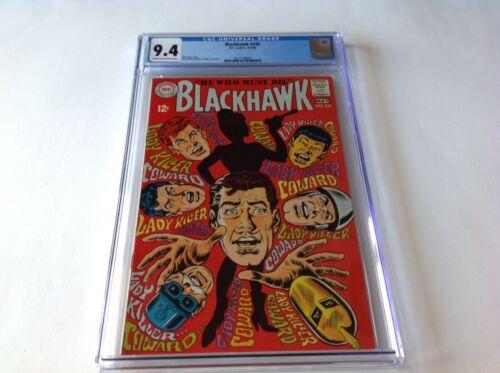 BLACKHAWK 240 CGC 9.4 COOL COVER LADY KILLER DC COMICS