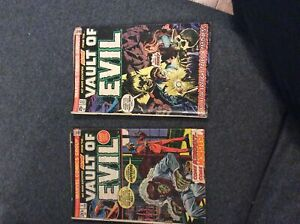 Vault of evil #1 +22 Stan lee 1973