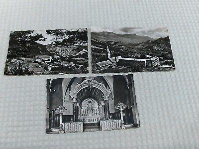 CPA :  NOTRE DAME DE LAUS 3 cartes postales  :  état voir les 2  photos