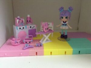 Happy Places sets and shopkins Shoppies dolls