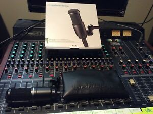 Microphone de studio at2020 audiotechnica