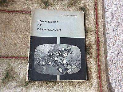 John Deere 37 Farm Loader Omc17646 Operators Book 25102120
