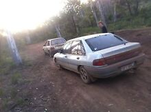 Ford laser scrap/bomb car Julimar Toodyay Area Preview