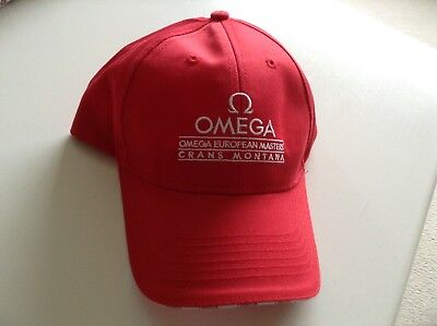Golf hat from the Crans Montana European Masters