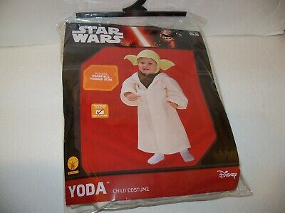 Infant Jedi Costume (Star Wars JEDI MASTER YODA Toddler Baby 2T – 3T CHILD COSTUME cosplay)