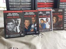 Lethal Weapon DVD collection Heritage Park Logan Area Preview
