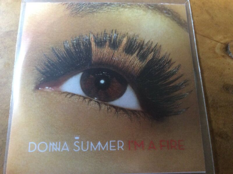 Donna Summer - I'm A Fire - 1trk Promo only CD-R. Extremely Rare.