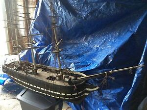 Large 19th Century Model Ship