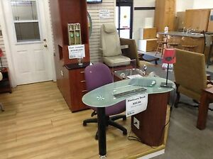 Aesthetic/salon items including pedi chair at Waterloo restore