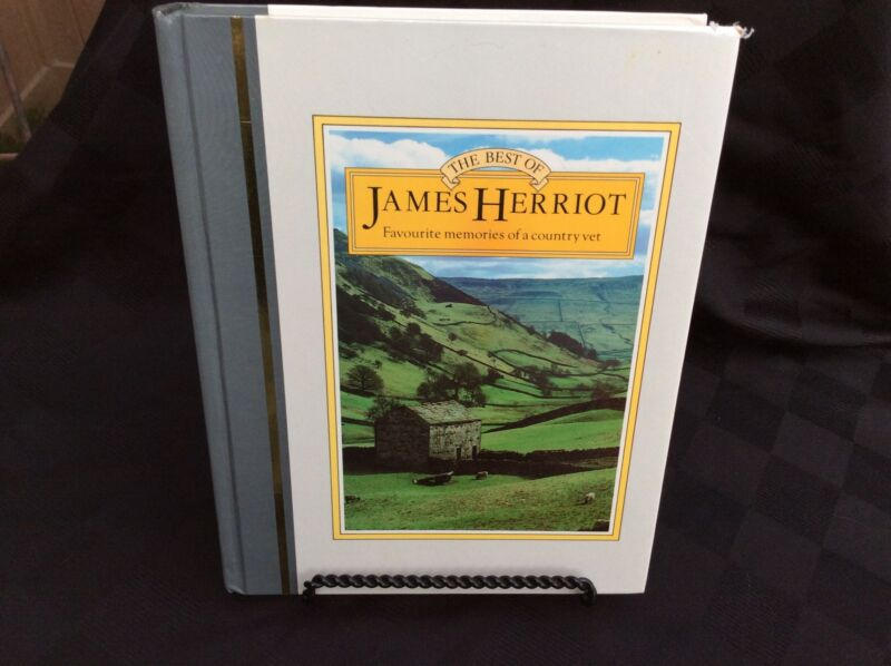 The Best of James Herriot Favorite Memories of A Country Vet-illustrated 1983