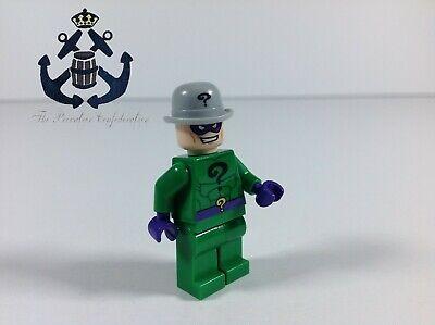 Lego DC Comics Batman II Minifigure The Riddler, Bowler Hat Super Villain sh008