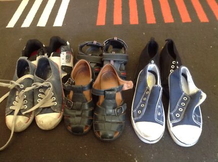 Children's size 11 shoes x 6 pairs  Camden Park West Torrens Area Preview