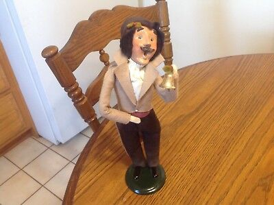 "Byers' Choice, The Carolers, 1994 Bell Ringer Man, 12"", signed 19/100"