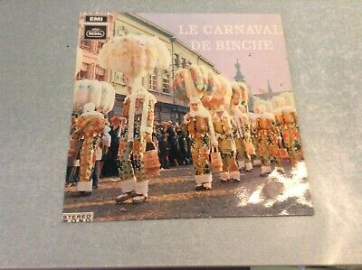 Disque vinyle 33 tours (b) carnaval de binche