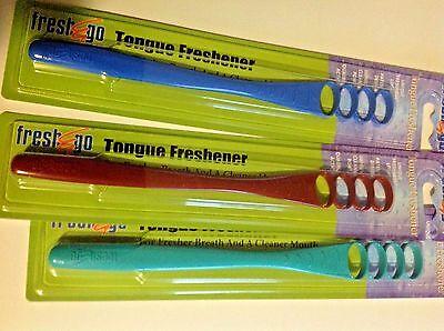 Tongue Scraper,  Cleaner. Fresh & Go Freshener for Fresh Breath. Free Ship, USA