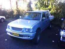 Holden rodeo dual cab ute lpg manual West Gosford Gosford Area Preview