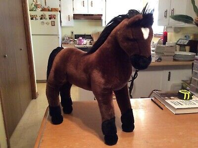 Large Plush Horse Douglas The Cuddle Toy 21