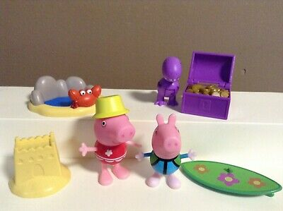 Peppa Pig Cake Toppers (PEPPA PIG FIGURES LOT CAKE TOPPERS)
