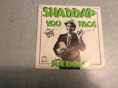 Disque vinyle 45 tours /shaddap you face