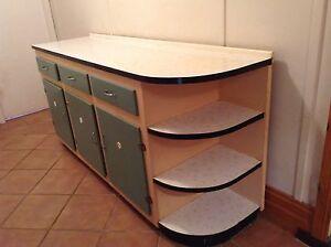 Old style kitchen cupboard Port Noarlunga Morphett Vale Area Preview