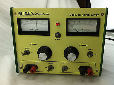 Bio Rad Laboratories Model 400 Electrophoresis Power Supply