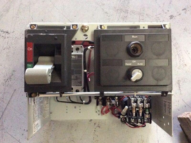 "Westinghouse 2100 12"" Motor Control Bucket Size 1 HMCP003A0C 3 Amp Breaker"