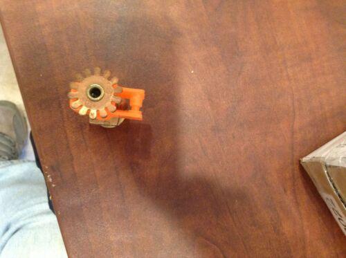 "+TYCO TY325 Brass Pendant Sprinkler Head 286F 1/2"" K=5.6 (5 LOT)"