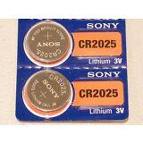 2 pc SONY cr2025 lithium 3v battery cr 2025  EXPIRATION 2027