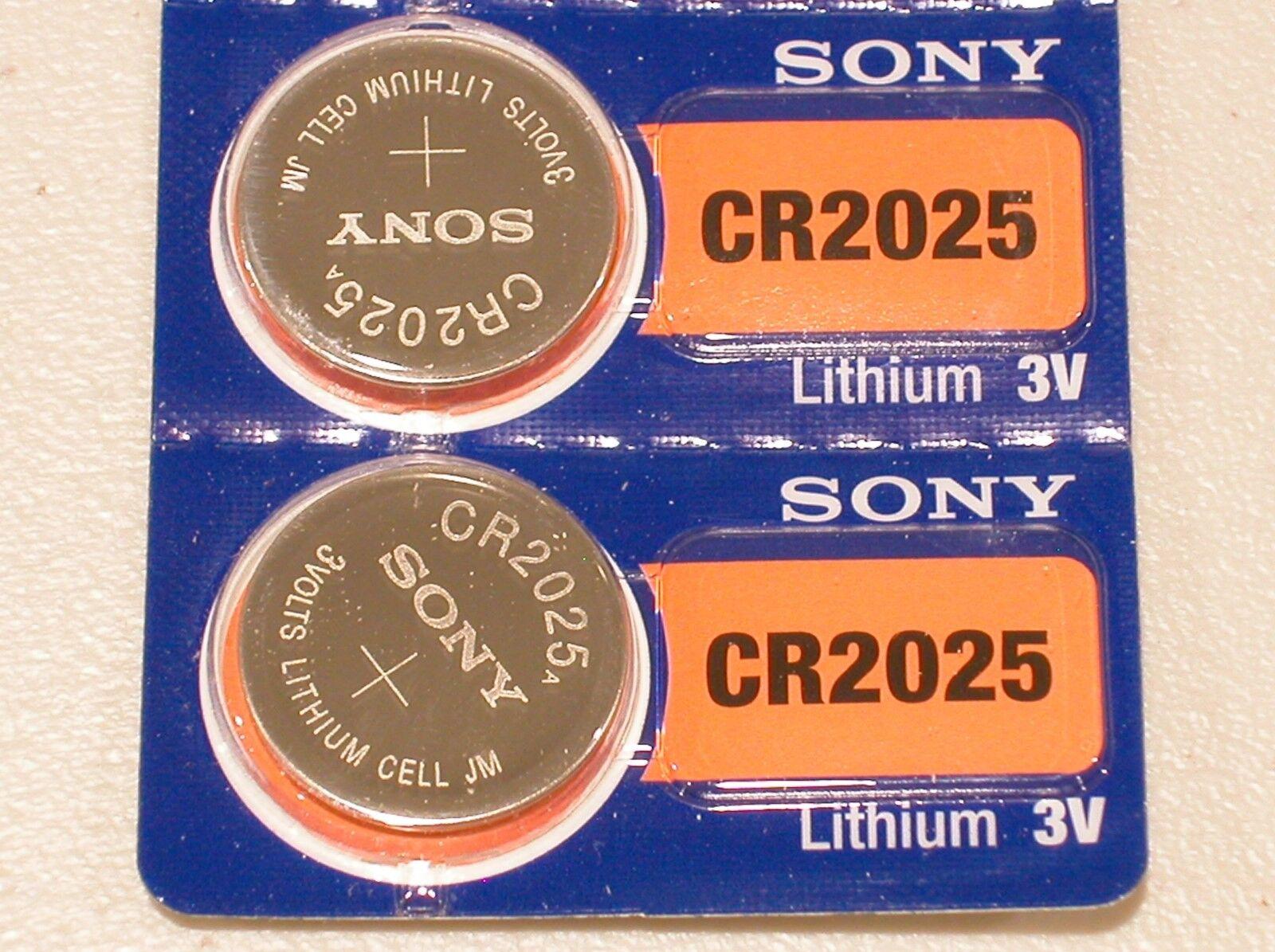 Купить 2 pc SONY cr2025 lithium 3v battery cr 2025  EXPIRATION 2026