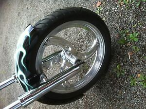 Chopper rolling chassis Asking $1900 or trade