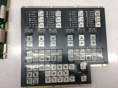 Mazak / Mitsubishi Keypad PC Board, KS-YZ405B-2, BN330B175*, Used, Warranty