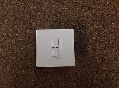 LightwaveRF Master 1 Gang 2 Way 250W Light Switch Dimmer LW400
