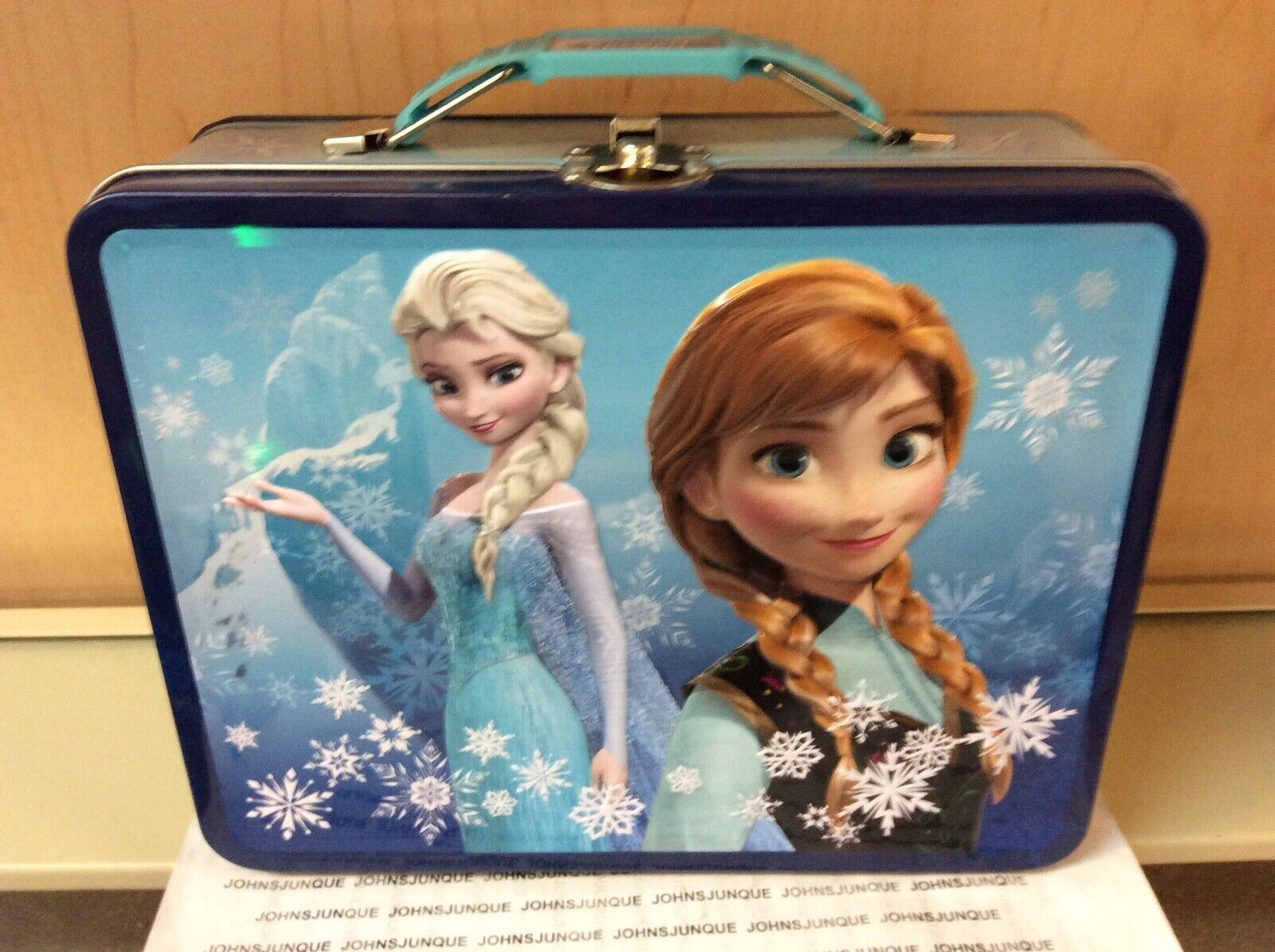 frozen elsa and anna tin lunch box