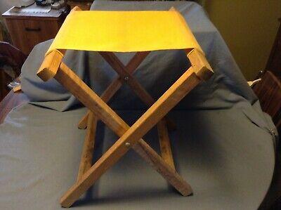 Awe Inspiring Wood Canvas Camping Stool Bralicious Painted Fabric Chair Ideas Braliciousco