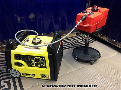 Champion 3100w Inverter Generator 3 Gal Extended Run Fuel System See Model Note