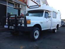92 Ford F-350 4x4 351 5 Spd campervan LPG + petrol East Rockingham Rockingham Area Preview