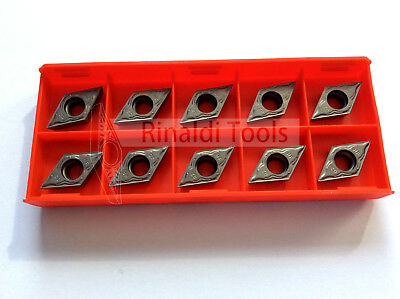 10 x Wendeschneidplatten DCMT 11T302-HF Cermet  NEU!! Mit Rechnung!!