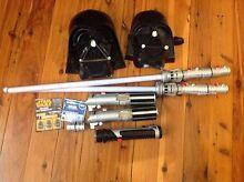 Darth Vader masks light sabers lightsabers Star Wars book week Auburn Auburn Area Preview