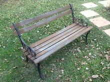 Garden bench outdoor seat chair. SOLD - Danni, pending pick up Thornlands Redland Area Preview