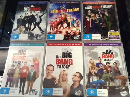The Big Bang Theory Season 1-6 Winnellie Darwin City Preview