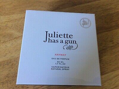 Juliette Has A Gun Anyway  50ml Eau De Parfum Spray New Authentic
