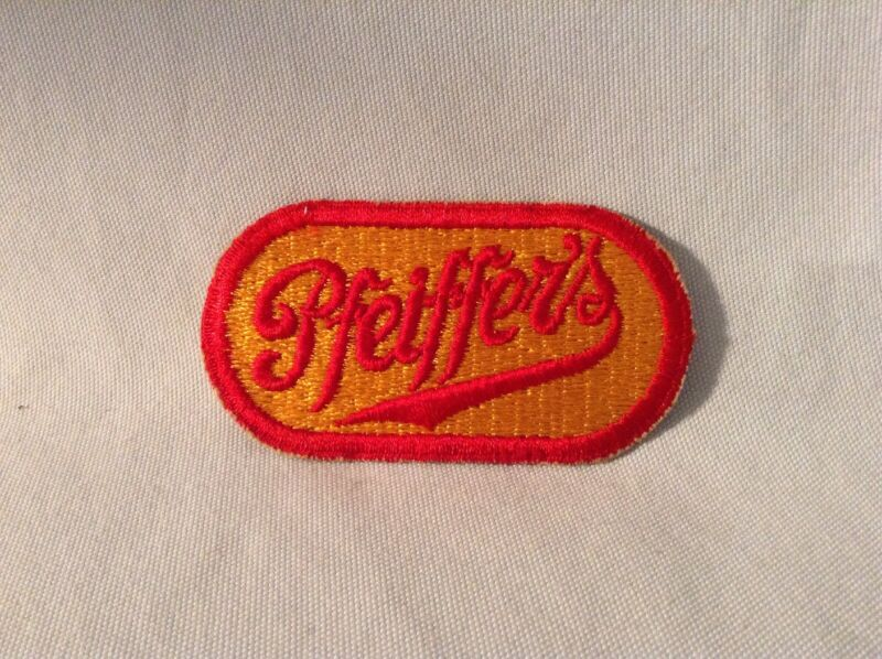 Pfeiffers Beer Patch Vintage New Old Stock 3 1/2""