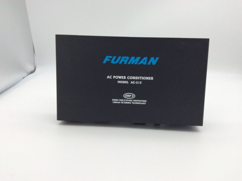 Furman AC-215 2-Outlet Power Conditioner Surge Protector Noise Filter