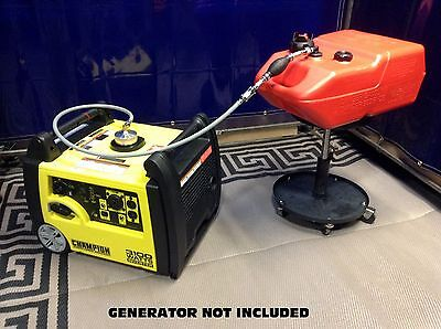 Champion 3100w Inverter Generator 6 Gal Extended Run Fuel System