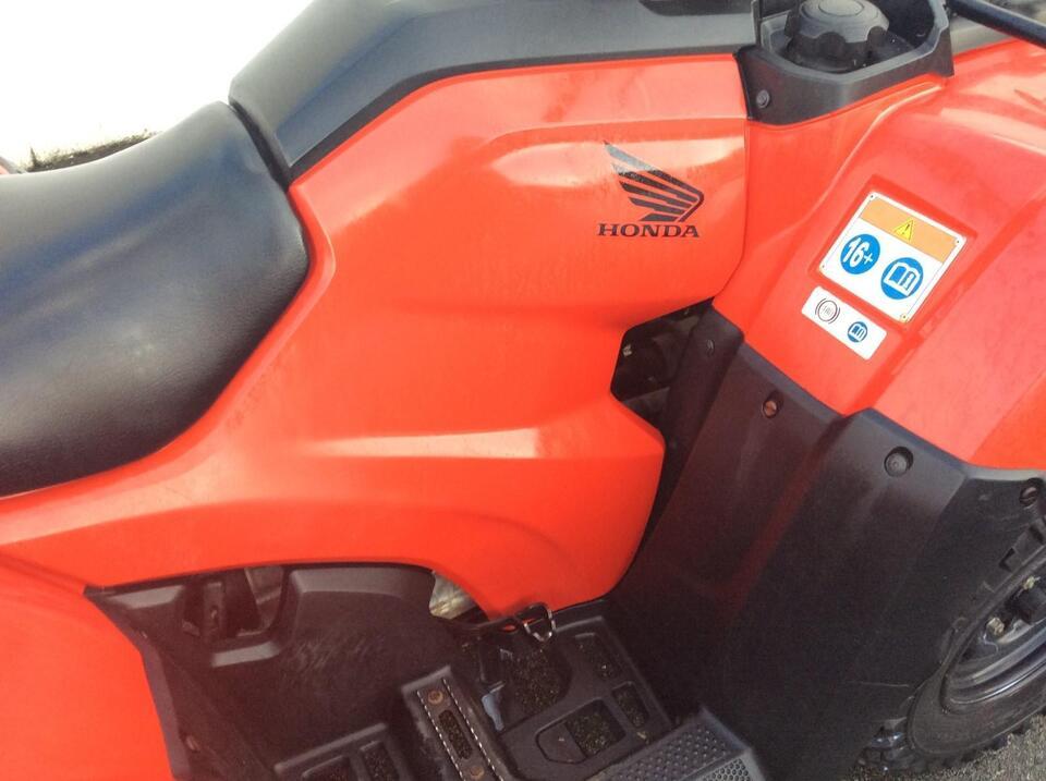 2015 HONDA TRX420 FE ELEC-SHIFT FOURTRAX 4x2x4 4WD QUAD ATV FOUR WHEELER