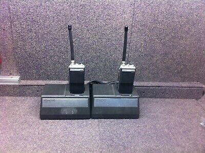 Lot Of Kenwood Tk-200 Vhf 6 Channel 5 Watt Portables
