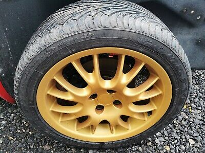 GTM LIBRA 2006 SET OF 4 ALLOY WHEELS 16'' WITH TYRES 205/45/16
