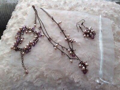 Virgin vie jewellery set
