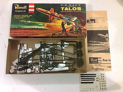 Revell US Navy Bendix TALOS anti-aircraft missile model kit FREE SHIPPING!