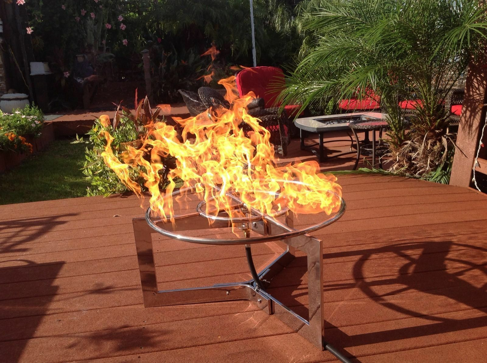 how to build a gas fire pit ring ebay